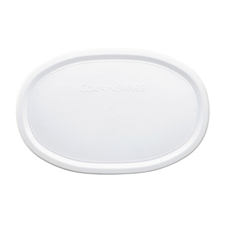 French White® 23-oz Plastic Oval Lid