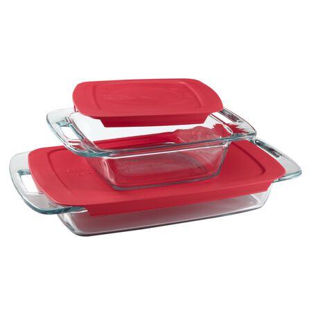 Easy Grab® 4-pc Bakeware Set