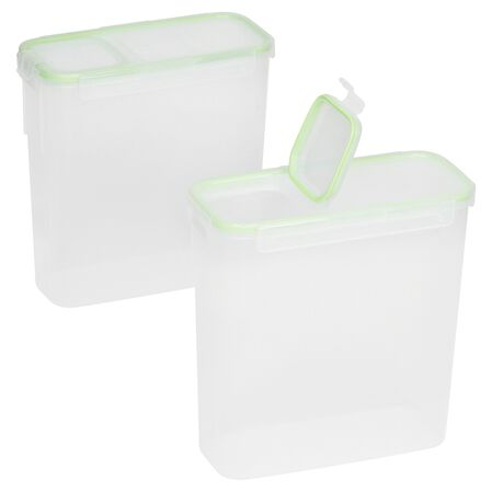 Airtight Food Storage 4-pc Set w/ Fliptop Lids