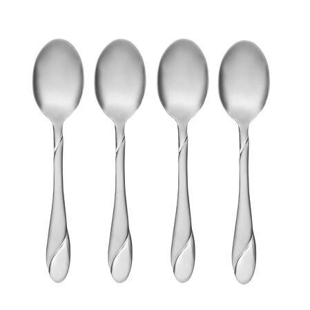 Swirl Sand 4-pc Dinner Teaspoon Set