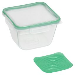 Total Solution™ Pyrex® Glass Food Storage 6.5 Cup, Square w/ Produce Keeper