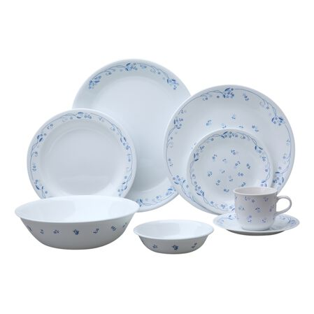 Livingware™ Provincial Blue 76-pc Dinnerware Set