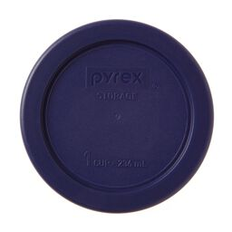 1 Cup Round Plastic Lid, Blue
