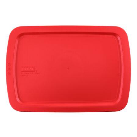 Easy Grab™ 3-qt Red Plastic Lid