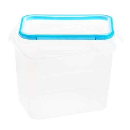 Total Solution™ Plastic Food Storage with Lid 7.58-cup, Rectangle