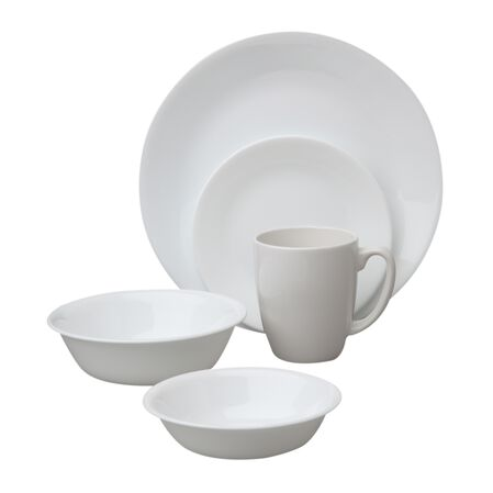 Livingware™ Winter Frost White 30-pc Dinnerware Set