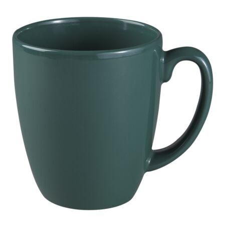 Livingware™ 11-oz Stoneware Mug, Dark Green