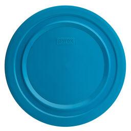 4.75-qt Round Plastic Lid, Marine Blue