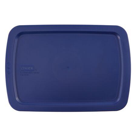 Easy Grab™ 3-qt Blue Plastic Lid