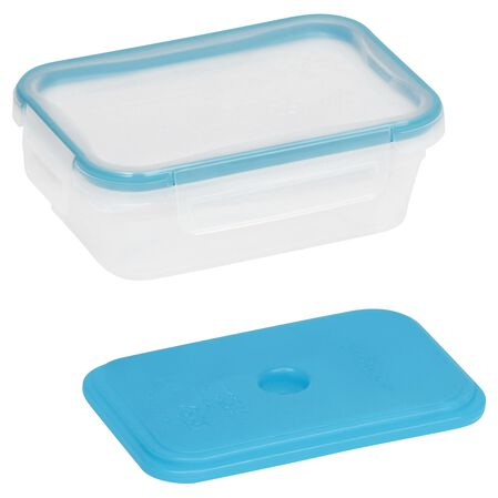 Total Solution™ On the Go 3 Cup Plastic Rectangle Storage w/ Ice Pack