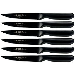 Black Oxide 6-pc Steak Knife Set