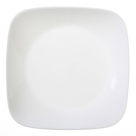 "Square™ Pure White 9"" Plate"