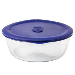 Pro 3-qt Round Storage Bowl w/ Blue Vented Lid