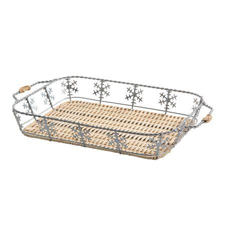 3-qt Snowflake Basket