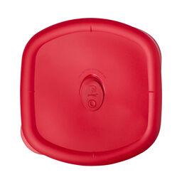 Pro 3-qt Square Plastic Lid, Red