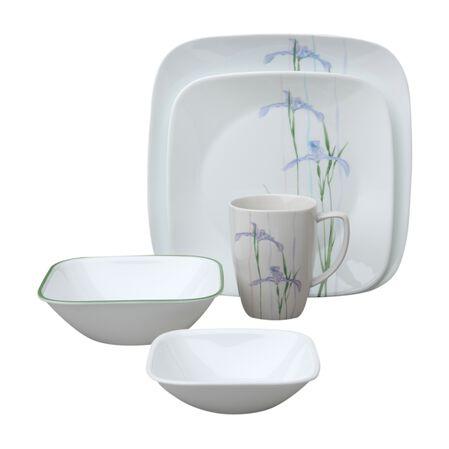 Square™ Shadow Iris 30-pc Dinnerware Set