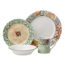 Impressions™ Watercolors 16-pc Dinnerware Set
