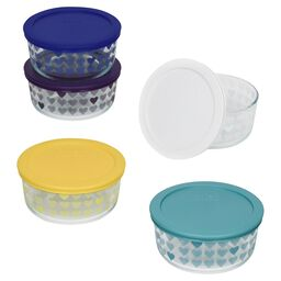 Simply Store® 10-pc Hearts 4 Cup Storage Set w/ Lids