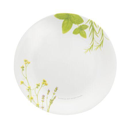 """Livingware™ European Herbs 8.5"""" Plate"""