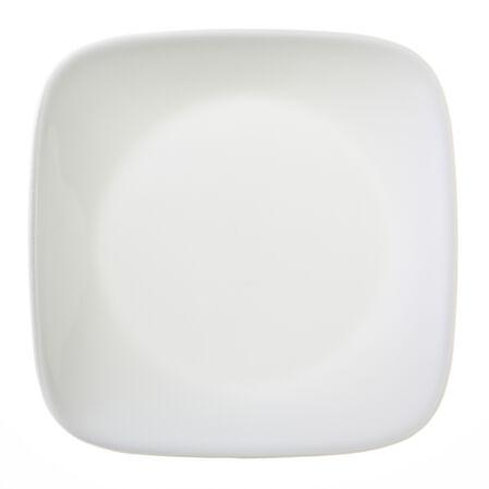 """Square™ Pure White 6.5"""" Plate"""