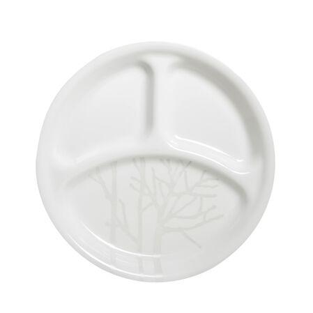 "Livingware™ Frost 10.25"" Divided Plate"