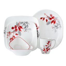 Boutique™ Kyoto Leaves 42-pc Dinnerware Set