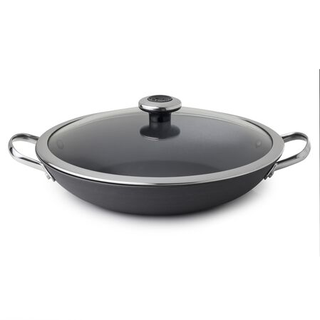 "Clean Panâ""¢ 3.2-qt Hard Anodized Aluminum Non-stick Braising Pan w/ Lid"