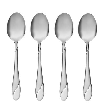Swirl Sand 4-pc Dinner Spoon Set