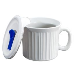 French White® Pop-Ins® 20-oz Mug w/ Vented Lid