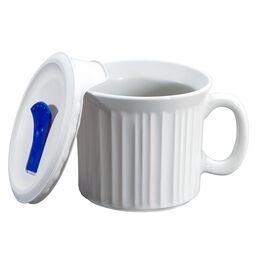 French White® Pop-Ins® 20-oz Mug w/ Vented Lid