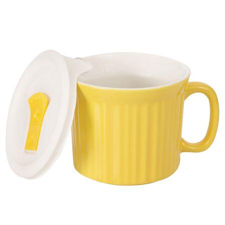 Colours® Pop-Ins® Curry 20-oz Mug w/ Lid