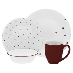 Vive™ Polka Dottie 16-pc Dinnerware Set