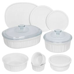 French White® 12-pc Round & Oval Set
