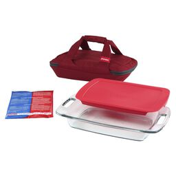 Portables® 4-pc Set, Red