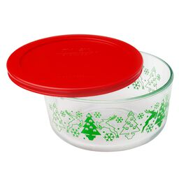 Simply Store® 4 Cup Prancer w/ Red Plastic Lid