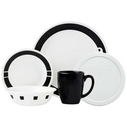 Livingware™ Urban Black 20-pc Dinnerware Set