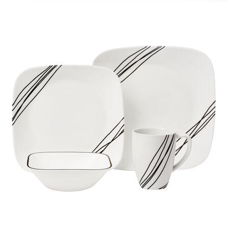 Square™ Simple Sketch 16-Pc Dinnerware Set