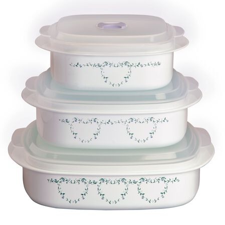 Coordinates® Country Cottage 6-pc Microwave Set