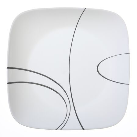 """Square™ Simple Lines 10.5"""" Plate"""